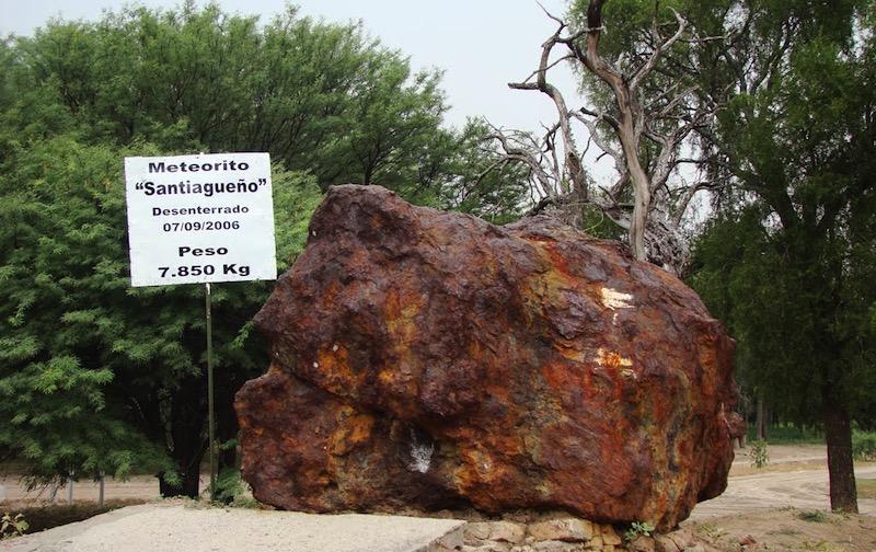 Campo del Cielo, la llanura sudamericana sembrada de meteoritos descubierta en 1576