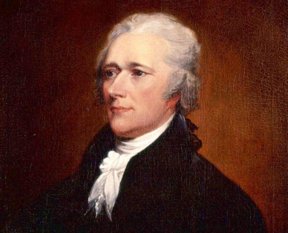 Alexander Hamilton, secretario del Tesoro