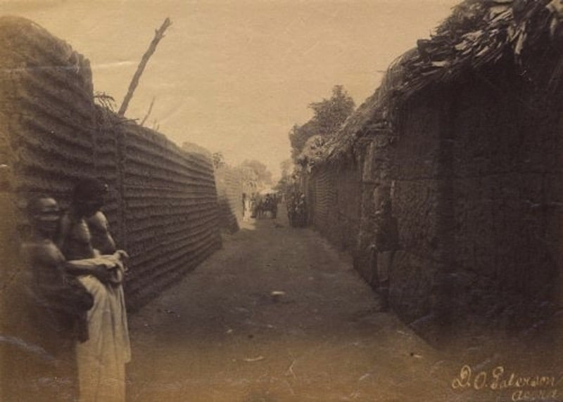 Las murallas de Benin, la estructura más larga construída por el hombre, con 16.000 kilómetros de longitud