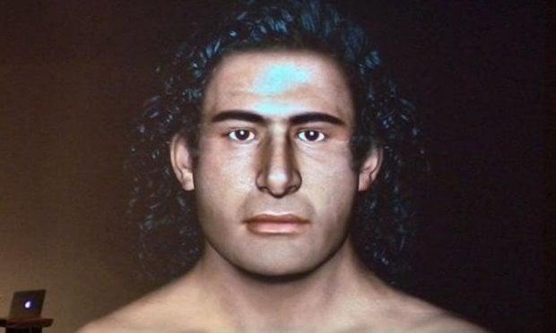 La reconstrucción del rostro del guerrero micénico hallado en una tumba de Pilos