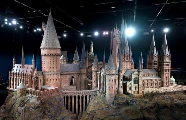 Exponen el Castillo de Hogwarts usado en las películas de Harry Potter