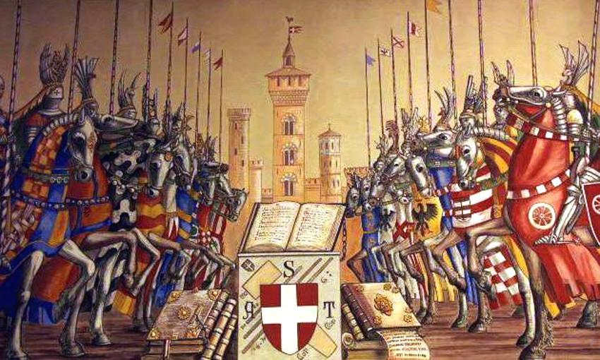 Zappolino, la batalla medieval causada por el robo de un cubo