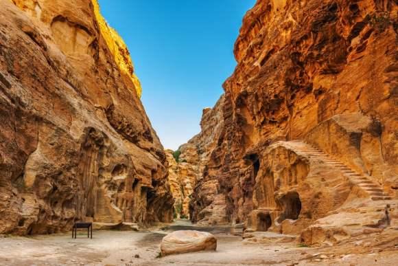 Cañón de Pequeña Petra / foto Shutterstock