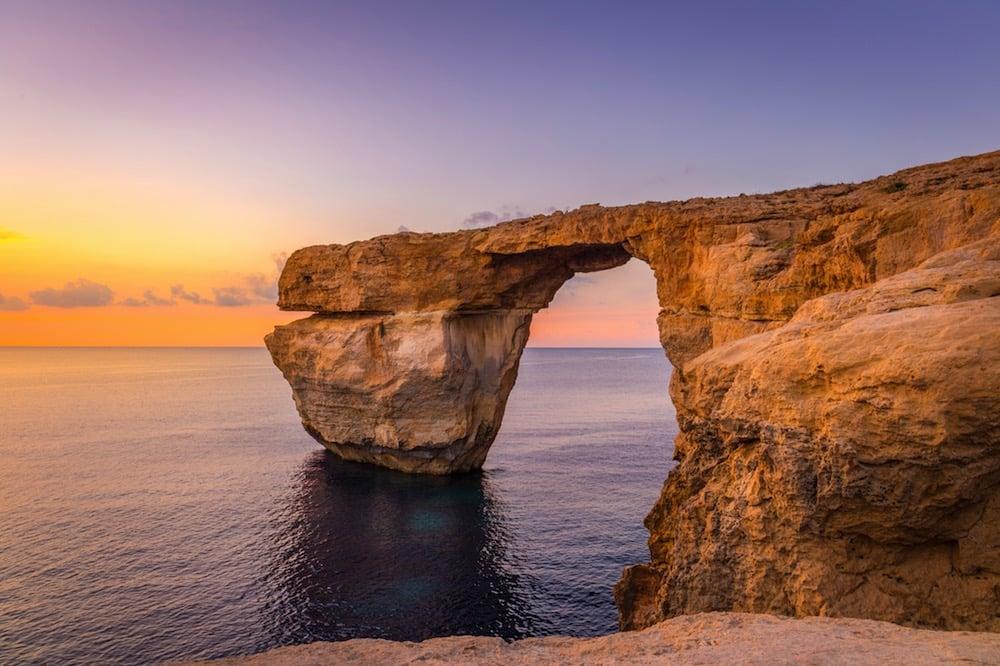 Azure Window, una de las imágenes icónicas de Malta