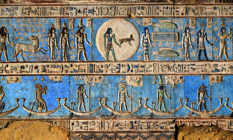 Hace 5.000 años los antiguos egipcios inventaron su propio color azul: el primer pigmento sintético de la historia
