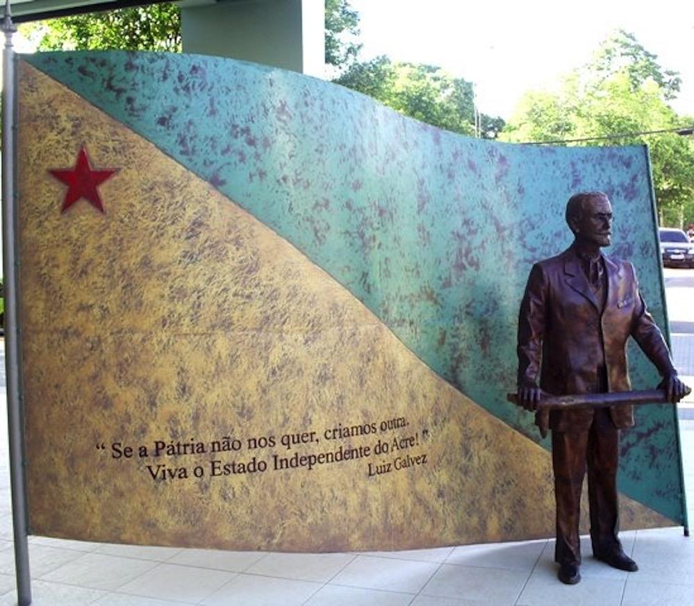 La República de Acre, el efímero país independiente en medio de la Amazonía fundado por un español en 1899