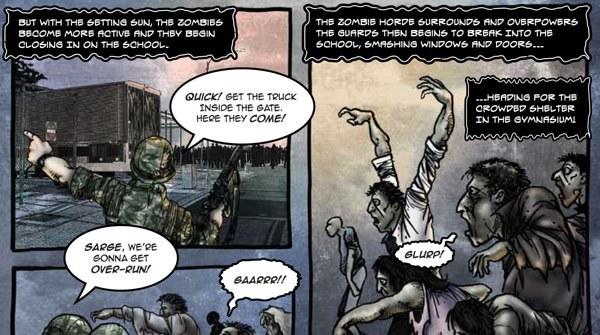 Estados Unidos se prepara para una invasión Zombie