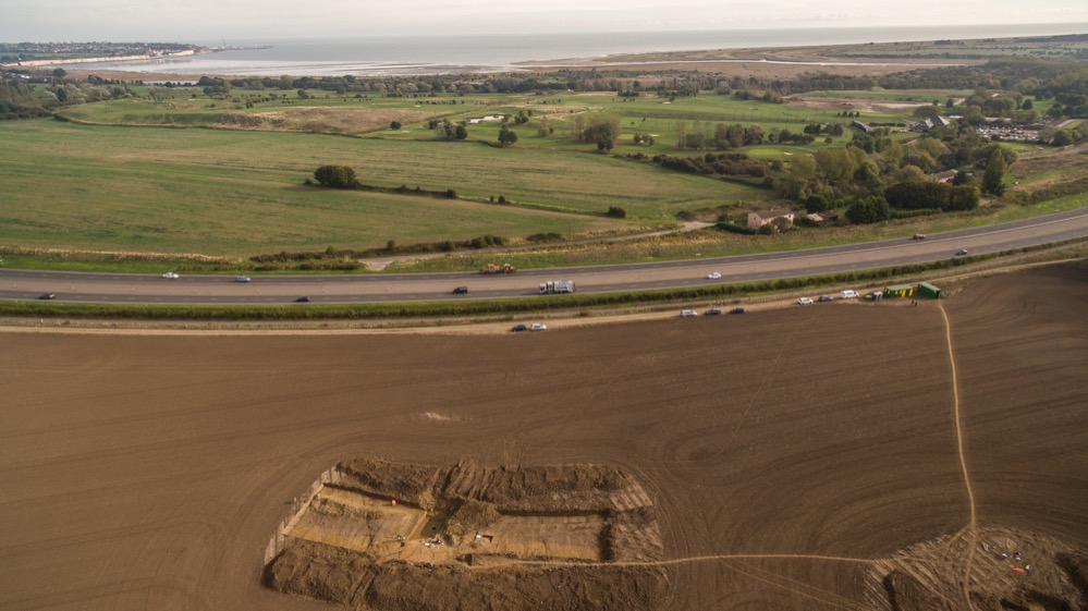 Las primeras evidencias arqueológicas del lugar de desembarco de Julio César en Britania
