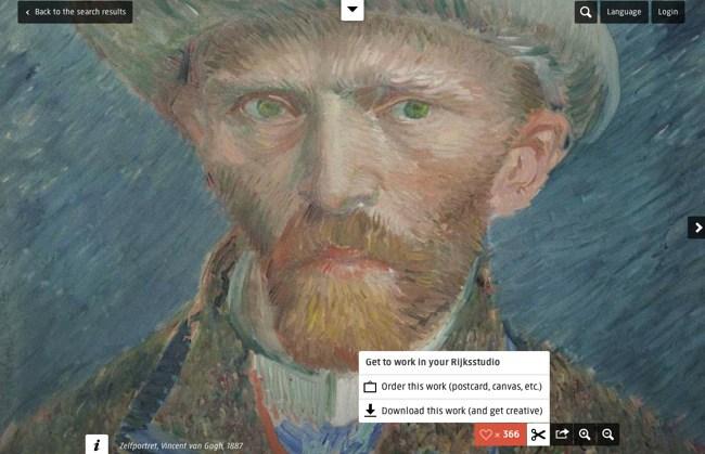 El Rijksmuseum ofrece 125 mil obras online para descargar y remezclar