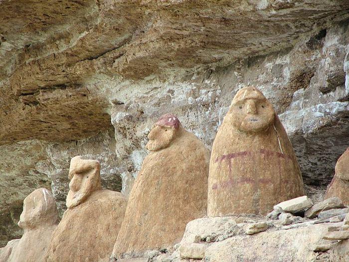 Los sarcófagos chachapoyas de Perú