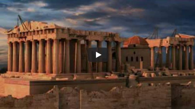 La historia del Partenón