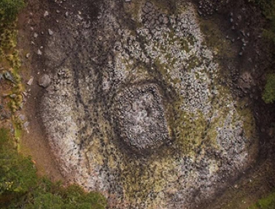 Encuentran en México una estructura azteca que parece representar un modelo del Universo