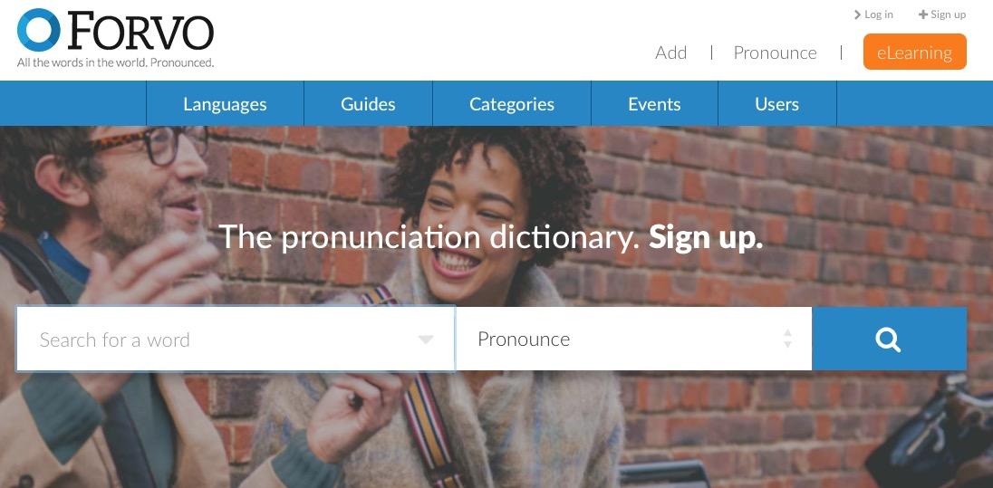 Cómo se pronuncian las palabras