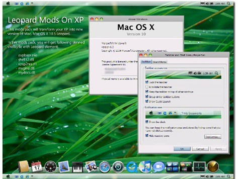 Packs de transformación para Windows y Linux