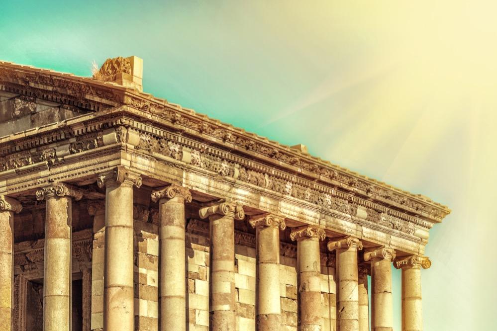 El único templo greco-romano de la antigua Unión Soviética