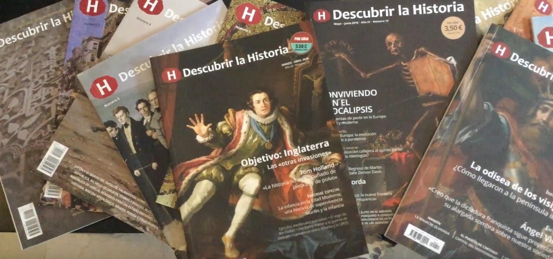 Participa en la campaña de micromecenazgo de la revista 'Descubrir la Historia'