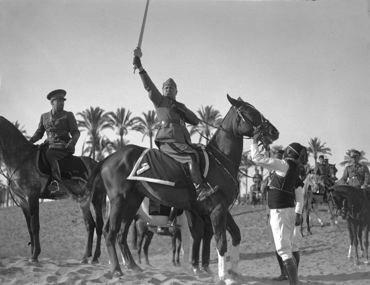 Resultado de imagen de Cuando Mussolini se proclamó Protector del Islam tras la campaña de Libia