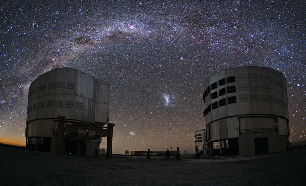 Astrónomos confirman la antigua colisión entre dos galaxias cercanas a la Vía Láctea