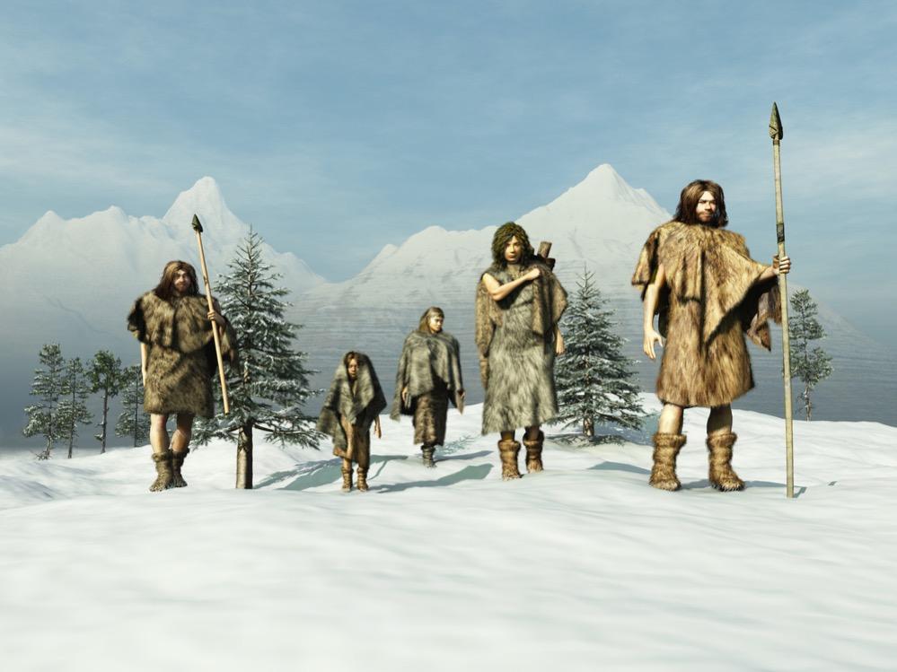 Una media de 1.500 personas vivía en Europa en el Paleolítico Superior