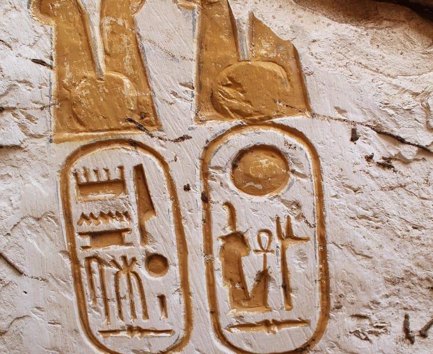 Descubren el palacio y las piedras fundacionales del templo de Ramsés II en Abidos