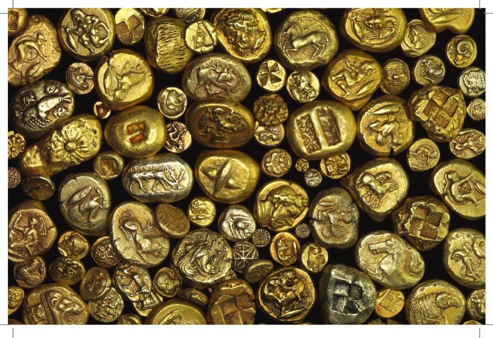 Electro, la aleación natural de oro y plata con la que se acuñaron las primeras monedas de metal