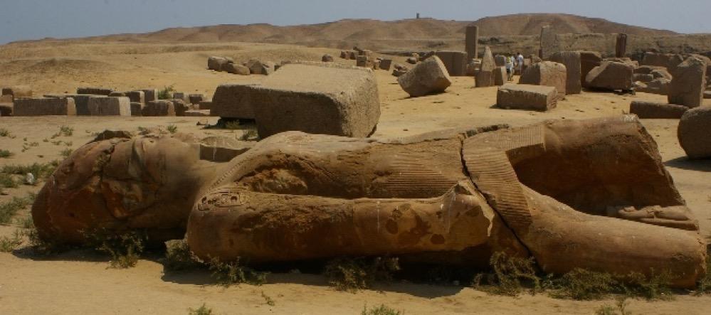 Una reconstrucción visual muestra como era el asentamiento de Tell el-Retaba en Egipto hace 3.500 años
