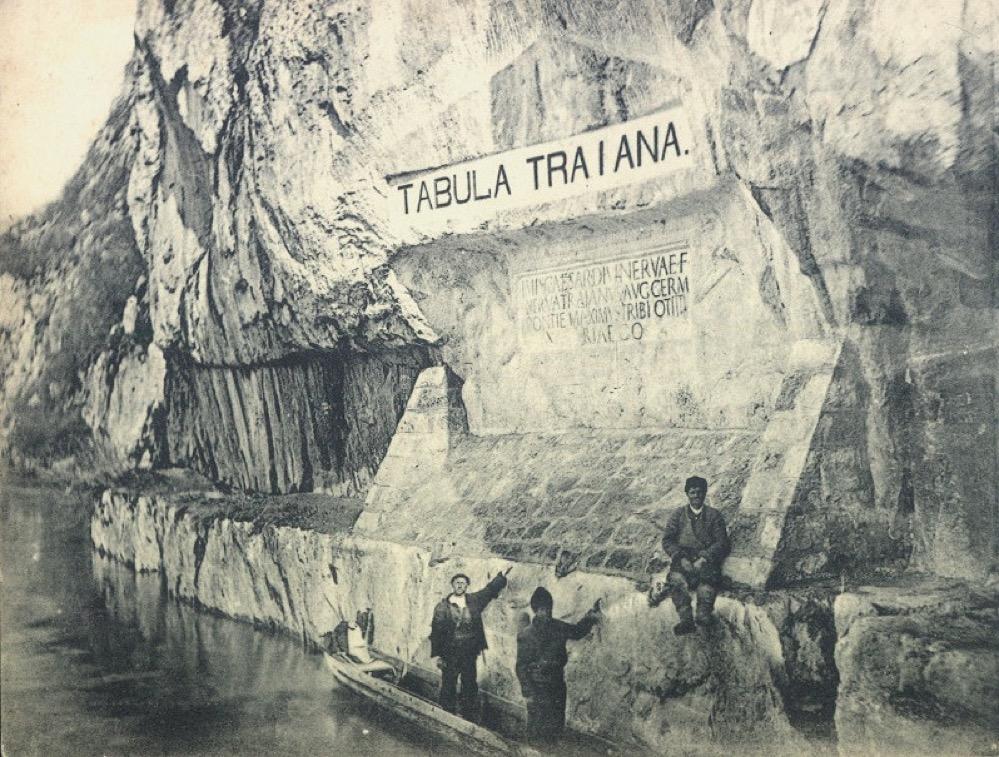 Tabula Traiana, la inscripción de Trajano en las Puertas de Hierro solo visible desde el agua
