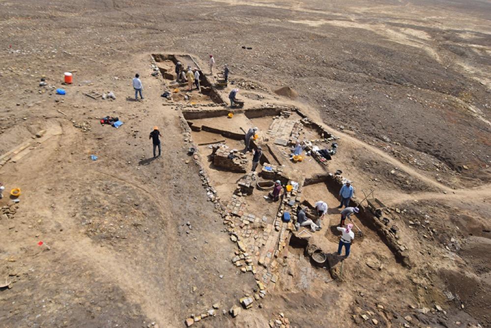 Encuentran en Ur la lujosa mansión de un sacerdote de hace 4.000 años con baño e inodoro incluidos