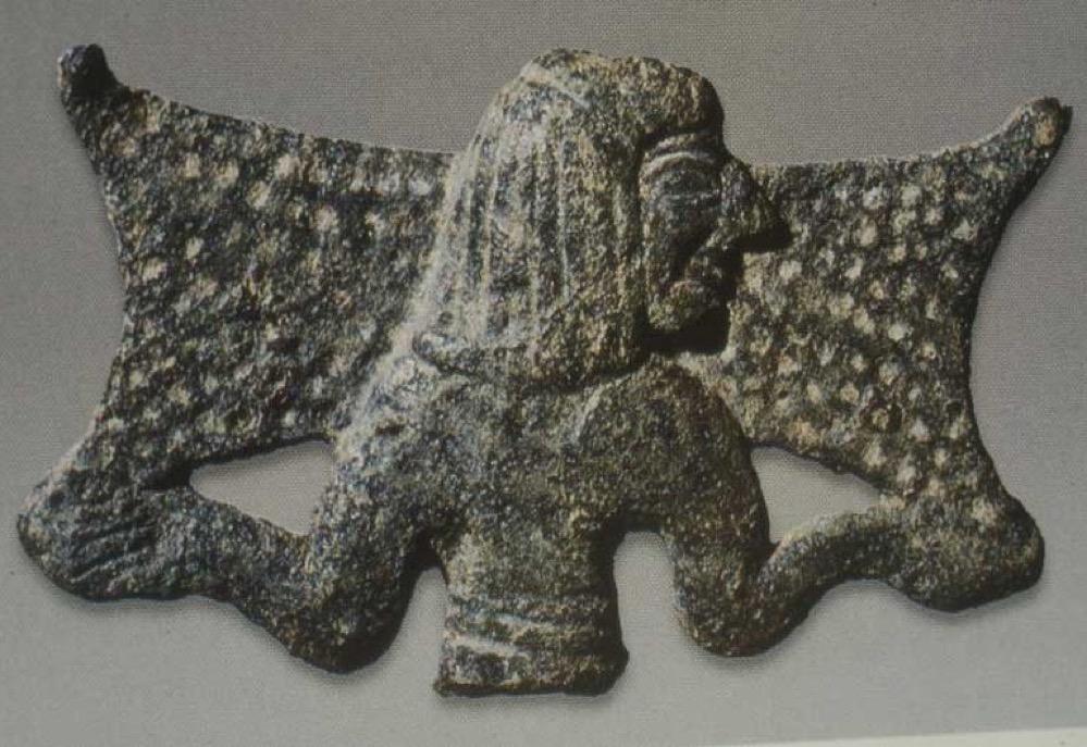Los chipriotas que llevaban lingotes de cobre al hombro en la Edad del Bronce