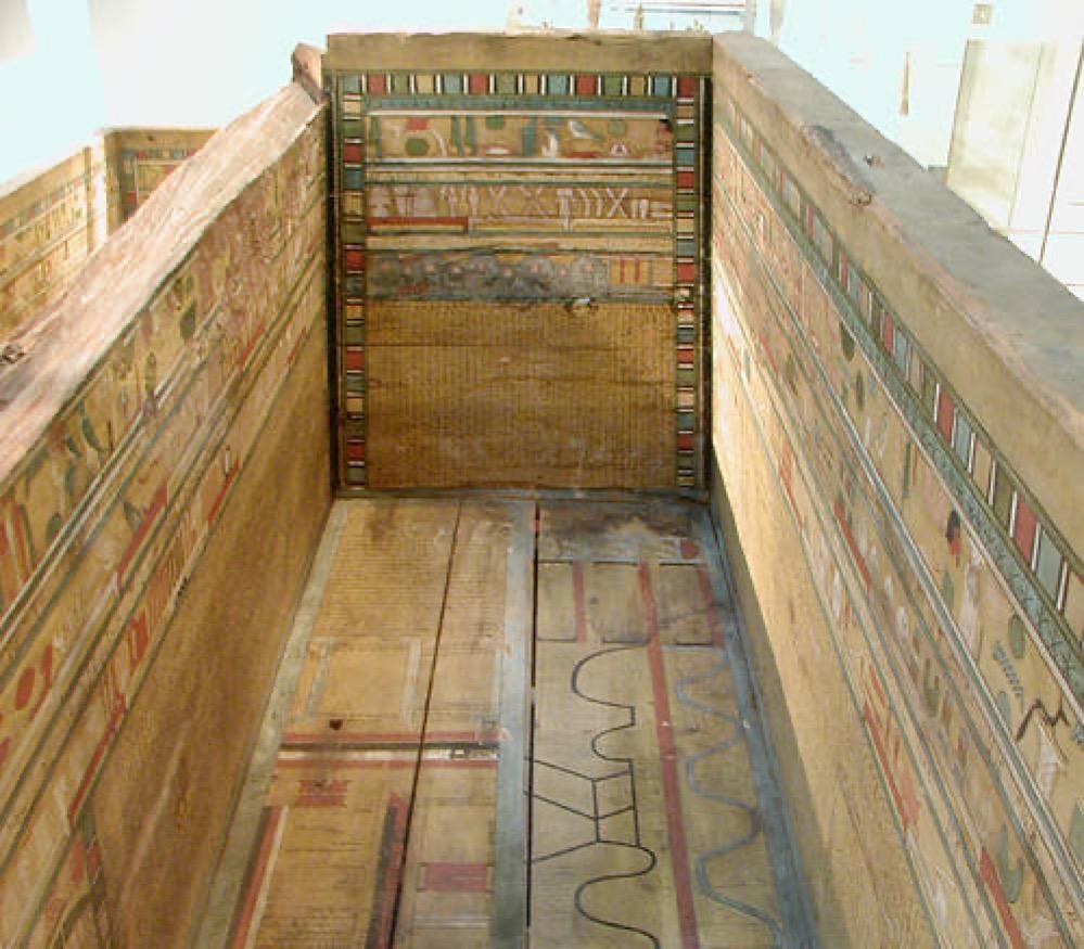 """Encuentran la versión más antigua del """"Libro de los dos caminos"""", el primer ejemplo de un mapa del inframundo en el Antiguo Egipto"""