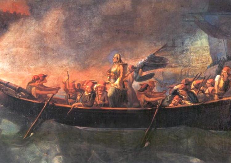 Laskarina Bubulina, la heroína de la independencia griega