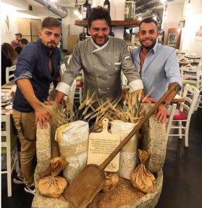 in ordine da sinistra: Michele imparato, Giuseppe Maglione, Vittorio Ferraro