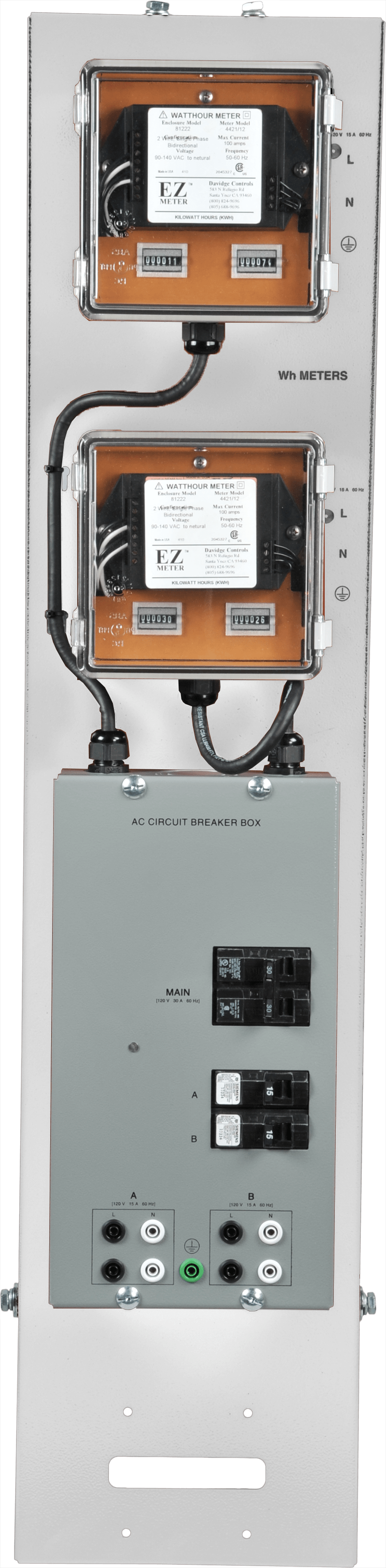 hight resolution of labvolt series by festo didactic kwh meters with ac electric breaker box wiring diagram residential breaker