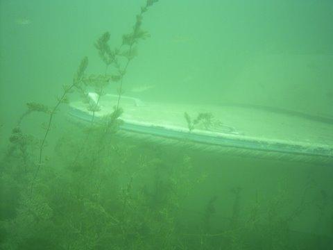 Epave lac du Bourget Marinette Charpignat