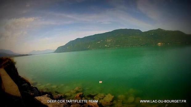 Plongée lac du Bourget site Pierre à Bise