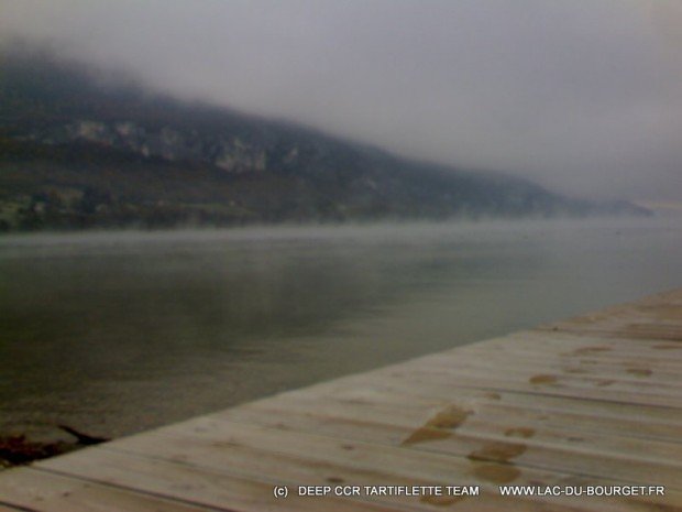 Météo lac du Bourget & température de l'eau