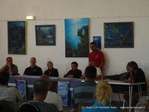 Conférences au festival de la plongée Tech en 2008