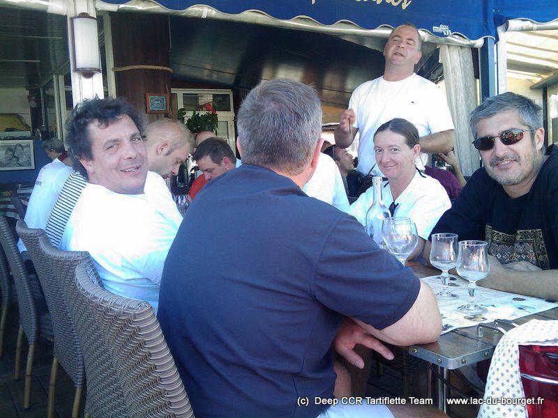 Des bons moments au restaurant à Cavalaire