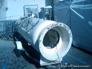 Un caisson de recompression portable