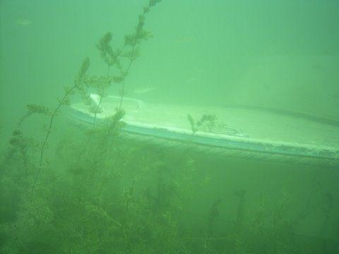 Épave Marinette lac du Bourget