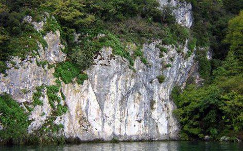Site de plongée chemin du Curé lac du Bourget