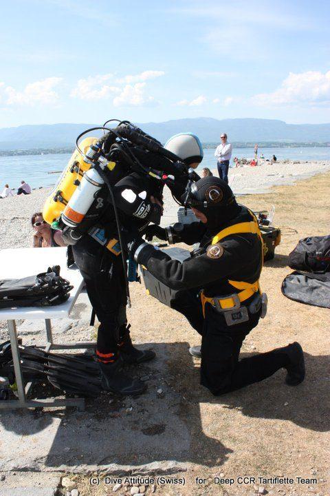 Baptême Plongée Découverte des recycleurs