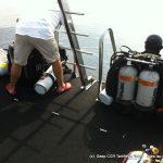 plongee profonde recycleur epave bananier deep ccr tartiflette team