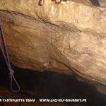 Plongée souterraine cascade du Pissieu Bauge Savoie
