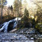 La cascade du Pissieu dans les Bauges Savoie