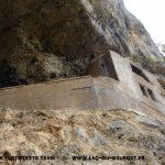 Plan du réseau de la Source de la Doria et de la grotte à Carret