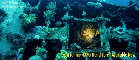 Lampe de plongée 4XPG Light for Me