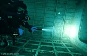 Lampe de plongee light for Me 4xpg 1600 Lumen
