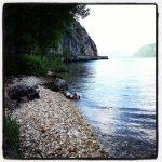 La Plage de Challière au lac du Bourget