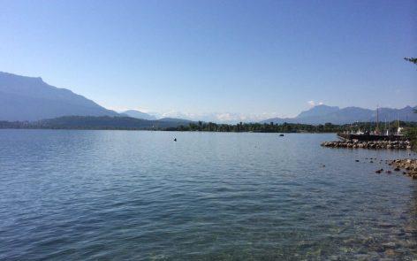Plongée Recycleur Epave voilier du Lac du Bourget